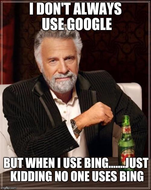 Google Bing SEO Joke